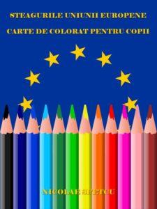 Steagurile Uniunii Europene - Carte de colorat pentru copii